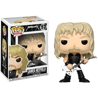 Funko 13680 Pop Vinyl Metallica James Hetfield
