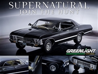 Supernatural 1967 Chevy Impala 1:18 Green Lights 19001