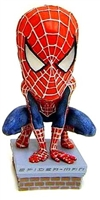 NECA Head Knockers SpiderMan Movie Spider Man