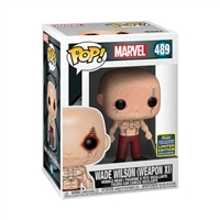Funko Pop Vinyl 889698489089 x-men wade wilson sdcc 2020 48908