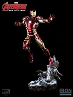 Iron Man Mark XLIII Statue 1:4 Avengers Age of Ultron Iron Studios 52284 0742832352284
