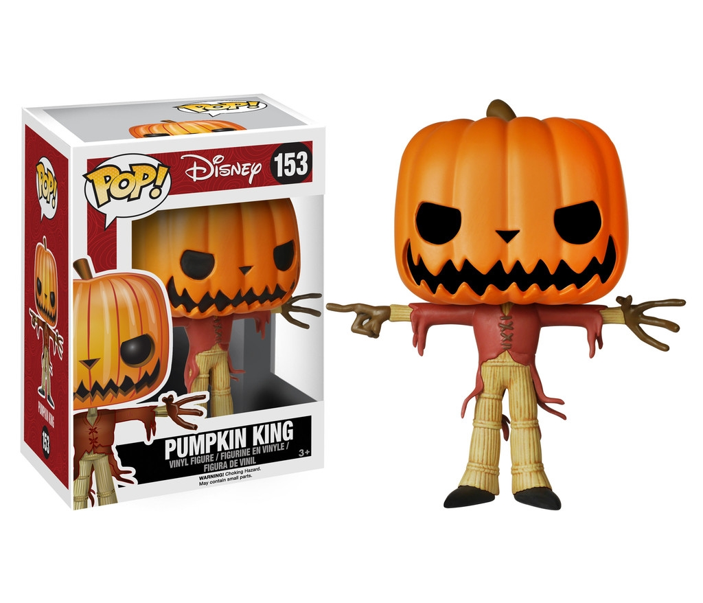Nightmare Before Christmas -Jack the Pumpkin King Pop! Vinyl Figure 5895