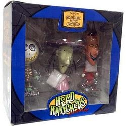 The Nightmare Before Christmas- 3 Pack Head Knockers