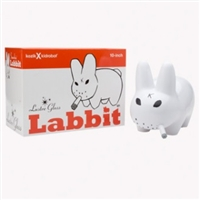 Kozik x Kid Robot- White Smokin' Lustre Gloss Labbit