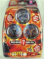 Doctor Who- Micro-Universe Figure Pack