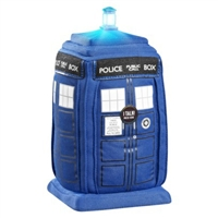 Doctor Who- Talking Soft Toy TARDIS