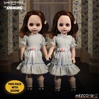 Living Dead Dolls Shining Grady Twins mezco 99580 talking