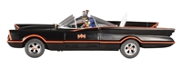 Batman- 1966 Die-Cast Batmobile with Figures 1:18 Scale Elite