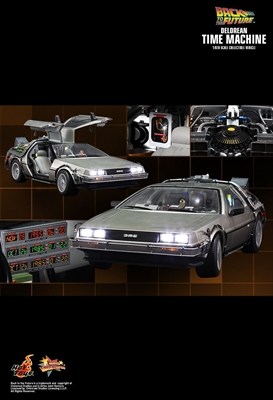 Back to the Future - DeLorean Time Machine Hot Toys MMS260