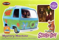Scooby Doo Mystery Machine Figures Plastic Kit Polar Lights POL814