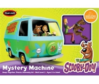 Scooby Doo Mystery Machine Figures Plastic Kit Polar Lights POL901/12