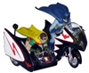 1:25 Batcycle TV Plastic Kit Polar Lights RPOL847