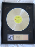 Rolling Stones Exile on Main Street RIAA Gold record award