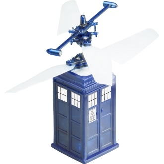 Doctor Who- Remote Control Flying TARDIS
