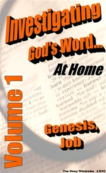 Investigating God's Word...At Home (NIV), Vol. 1