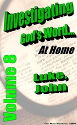 Investigating God's Word...At Home (NIV), Vol. 8