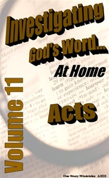 Investigating God's Word...At Home (NIV), Vol. 11
