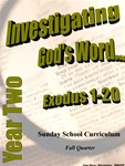 Sunday School Curriculum—Year Two (NIV), Fall
