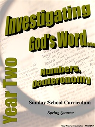 Sunday School Curriculum—Year Two (NIV), Spring