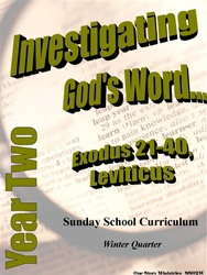 Sunday School Curriculum—Year Two (NIV), Winter