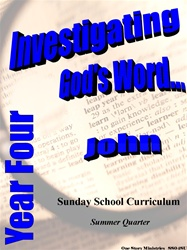 Sunday School Curriculum—Year Four (NIV), Summer