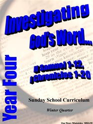 Sunday School Curriculum—Year Four (NIV), Winter