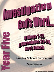 Sunday School Curriculum—Year Five (NIV), Spring