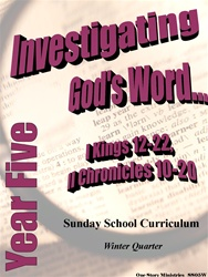 Sunday School Curriculum—Year Five (NIV), Winter