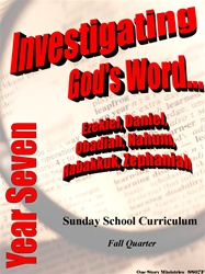 Sunday School Curriculum—Year Seven (NIV), Fall