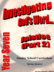 Sunday School Curriculum—Year Seven (NIV), Spring