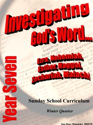 Sunday School Curriculum—Year Seven (NIV), Winter