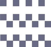 "Checkerboard 1"" Pattern Stencil"