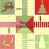 Parcheesi Board Christmas Stencil Set