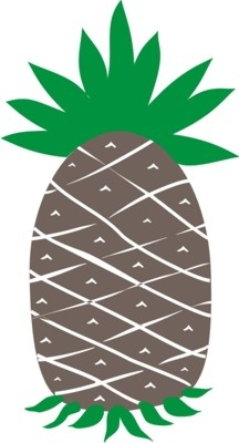 PRIMITIVE Pineapple stencil