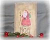 Santa Primitive Graphic stencil