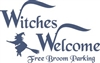 Witches Welcome stencil
