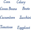 Veggies Words