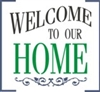 Welcome To Our Home stencil