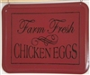 "Farm Fresh Chicken Eggs 10 x 6"" Stencil stencils diy graphic graphics"