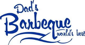 Dad's Barbeque World's Best Stencil Two Size Choices