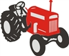 Tractor Graphic Stencil Set -Three size choices