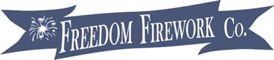 "Freedom Firework Co 24 x 6"" Stencil Set"
