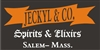 "Jeckyl & Co Spirits and Elixirs 12 x 5.5"" Stencil Set"