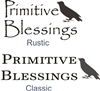Primitive Blessings Stencil Two design choices