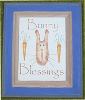 bunny blessings stencil