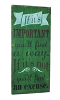 if it's important you'll find a way stencil