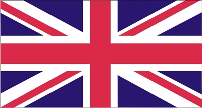 union jack/british flag stencil