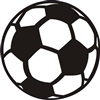 Soccer Ball Graphic -Two Size Choices