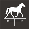 Horse Weathervane Two Size Choices