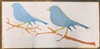Two Birds on a Branch Graphic Stencil Stencils graphics diy